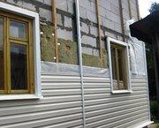 Отделка дома сайдингом,  утепление выезд: Солигорский район - foto 1